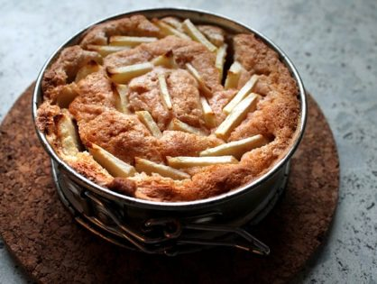 Tarta de Manzana integral. Apple Cake.